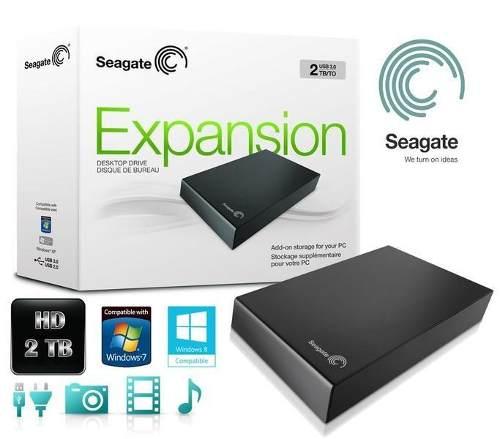 Hd Externo 2tb Seagate Expansion Usb 3.0 2000gb Frete Grátis  - HARDFAST INFORMÁTICA