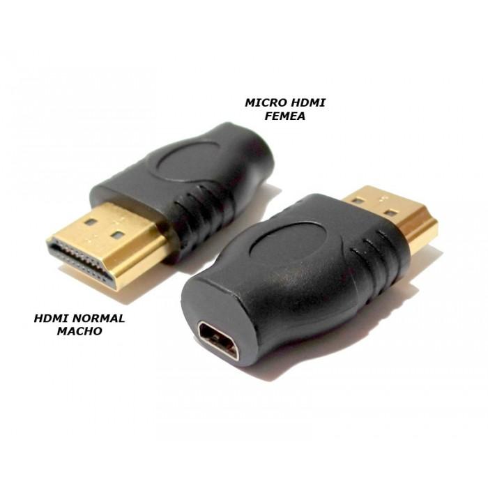 Adaptador Micro Hdmi (F) Para Hdmi (M) 1080P Full HD Tablet  - HARDFAST INFORMÁTICA