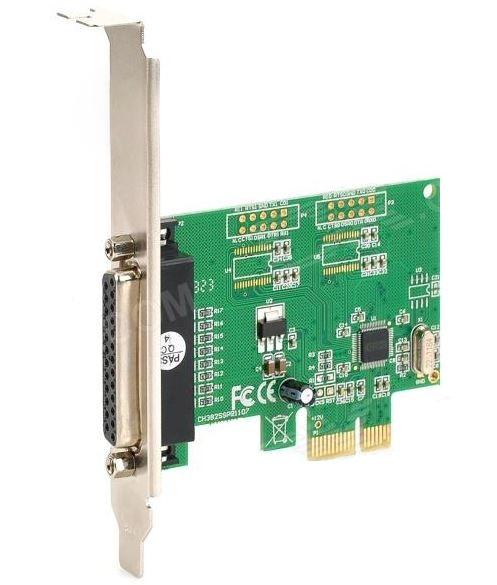 Placa Pci-e Express P/ Lpt Paralela Impressora Parallel 1.0  - HARDFAST INFORMÁTICA