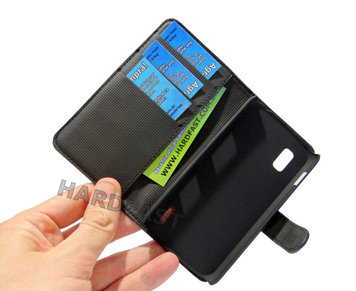 Capa Case Nexus 4 LG E960 Carteira Couro Cartões Dinheiro  - HARDFAST INFORMÁTICA