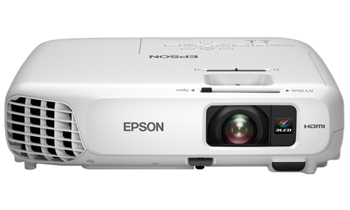 Projetor Epson x24+ XGA 3LCD HDMI WIFI 3500 LUMENS NF-E USB  - HARDFAST INFORMÁTICA