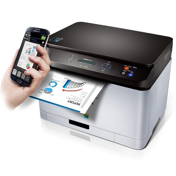 Impressora Laser Colorida Multifuncional Samsung Wifi NF-e SL-C460W  - HARDFAST INFORMÁTICA