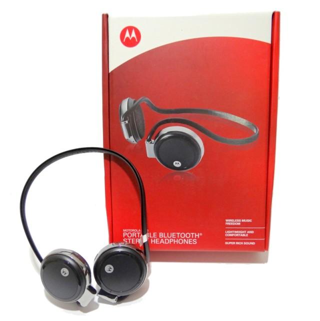 Fone de Ouvido Bluetooth Motorola Sem fio Stereo S306 S305  - HARDFAST INFORMÁTICA