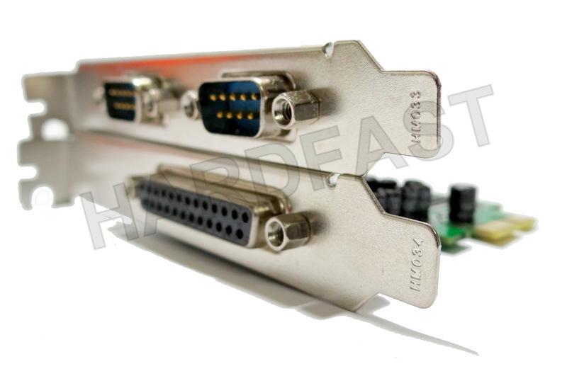 Placa Pci-e Express x1 Paralela e 2x Serial Impressora LPT1  - HARDFAST INFORMÁTICA