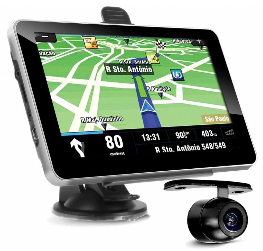 Gps Veicular Tela 7 Camera Ré Multilaser FM Igo 8 Tv digital  - HARDFAST INFORMÁTICA