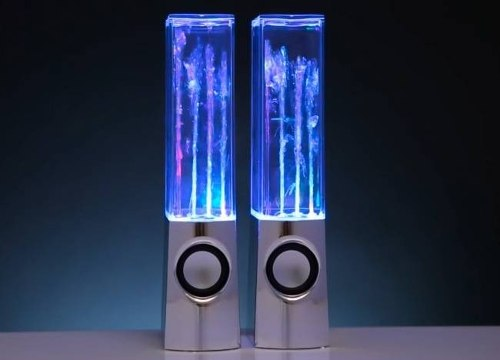 Caixa de Som Ultra Led Agua Stereo Surround 6W Ipod Iphone  - HARDFAST INFORMÁTICA