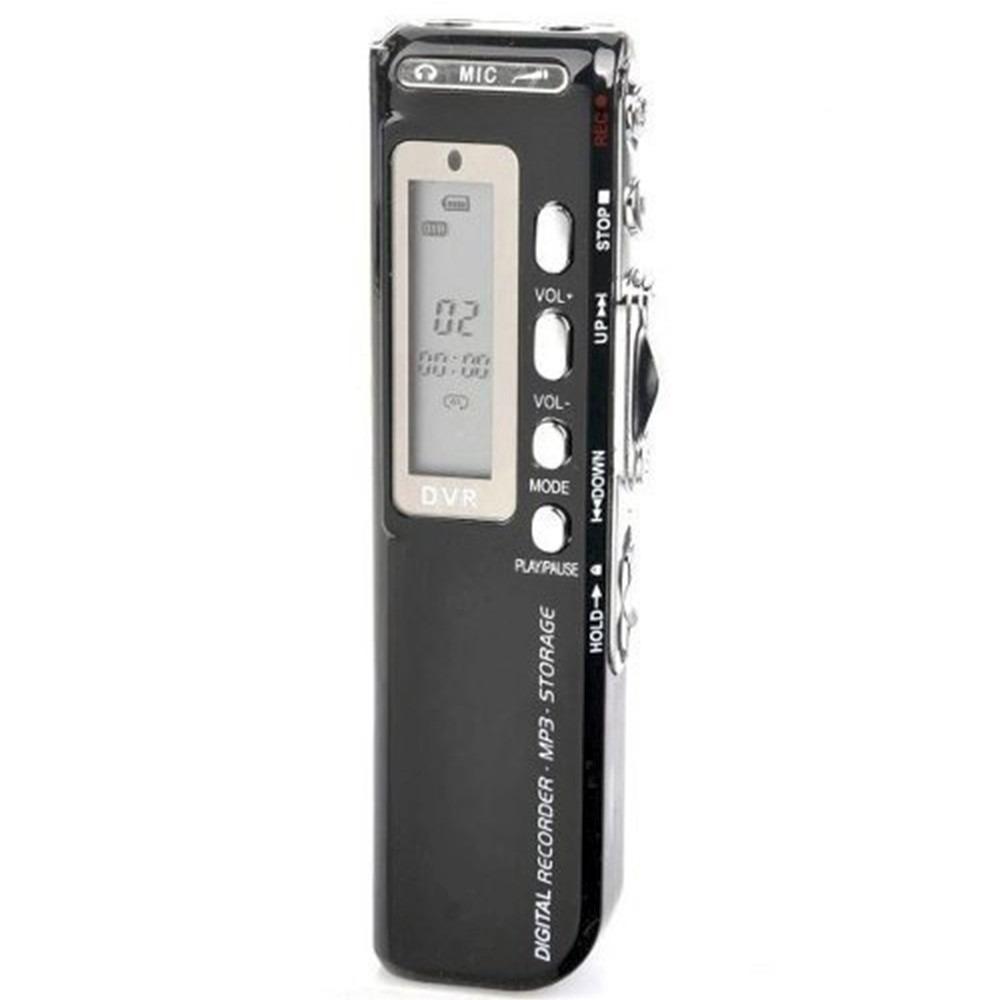 Gravador De Voz Digital Espião com 8Gb Memória Digital Alta qualidade Pequeno Discreto portátil  - HARDFAST INFORMÁTICA