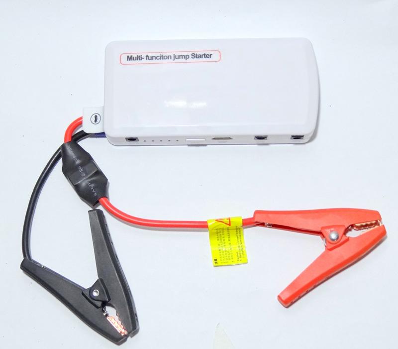 Jump Starter Carregador Portatil Bateria Moto Carro Celular Notebook Iphone Galaxy Samsung  - HARDFAST INFORMÁTICA