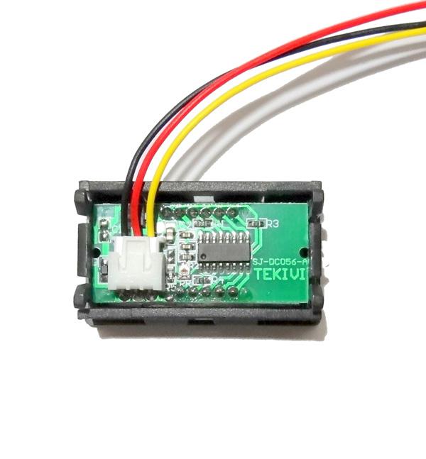 Voltímetro Digital Automotivo 30v 1,5 Bateria Função Remote  - HARDFAST INFORMÁTICA