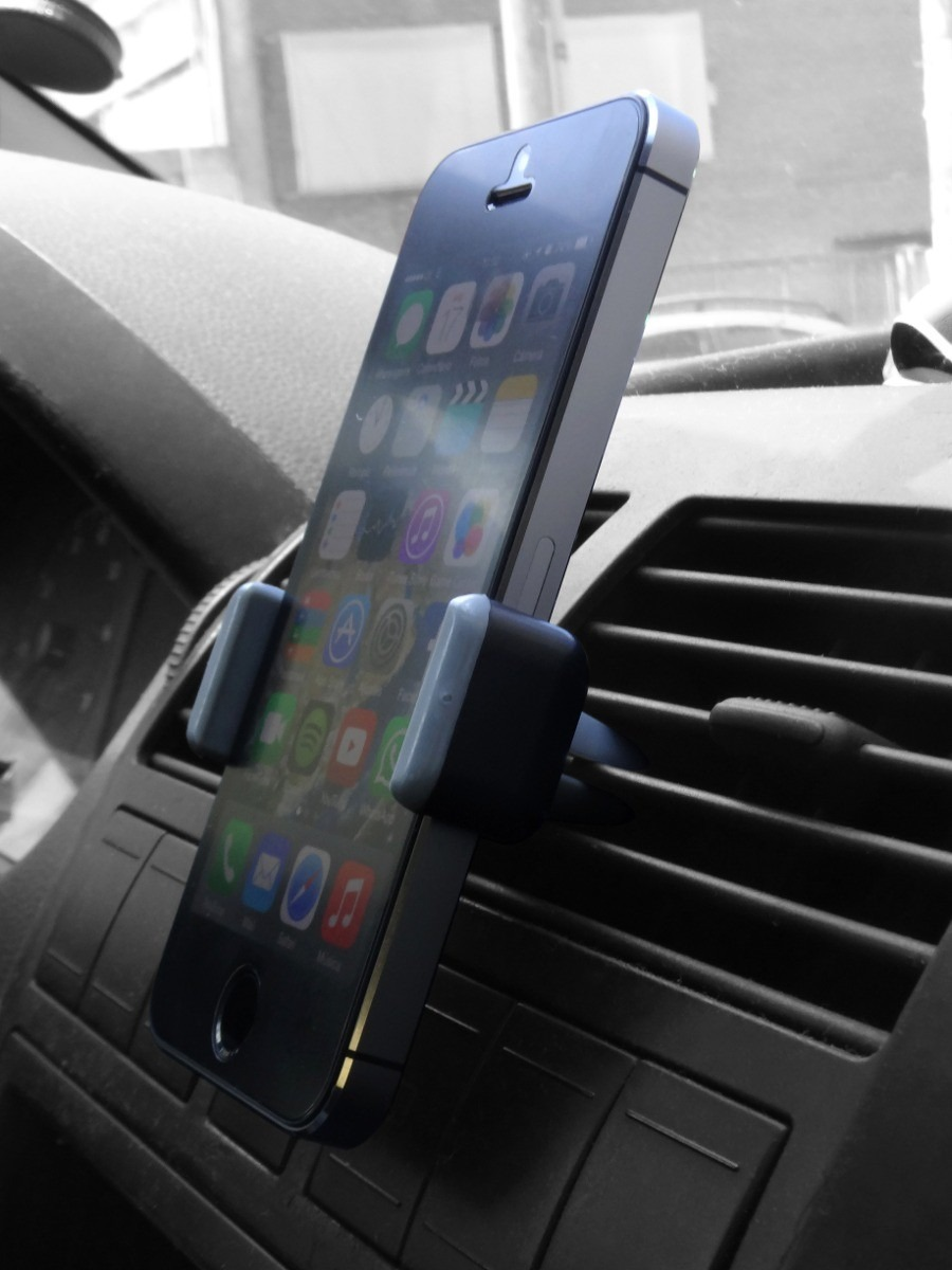 Suporte Universal Kenu Saida de Ar Celular Gps Waze Iphone kanu  - HARDFAST INFORMÁTICA