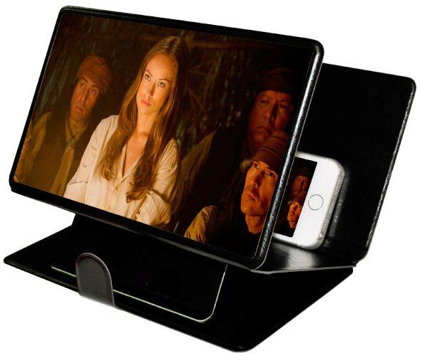 Capa Ampliador tela Celular Iphone Samsung Motorola Lg Sony Projetor de Tela  - HARDFAST INFORMÁTICA