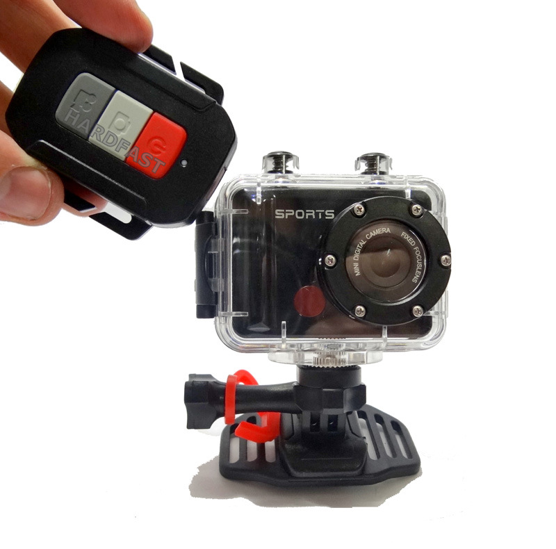 Camera FHD VD5000 60Fps Disparador Remoto 1080p 12Mp Fisheye Tipo GoPro Hero Zoom Video e Foto  - HARDFAST INFORMÁTICA
