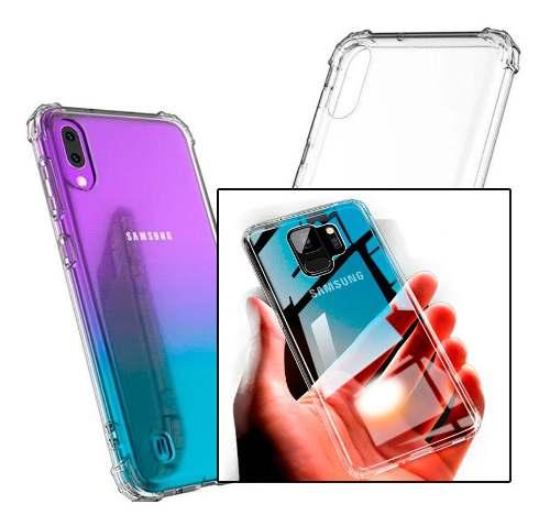 Capinha Silicone Samsung A70 Antishock + Película Gel Wlxy  - HARDFAST INFORMÁTICA