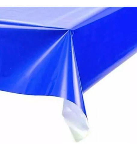 50x Toalhas Mesa Plástico Lisa 80x80cm Cores Higienica Festa Favix  - HARDFAST INFORMÁTICA