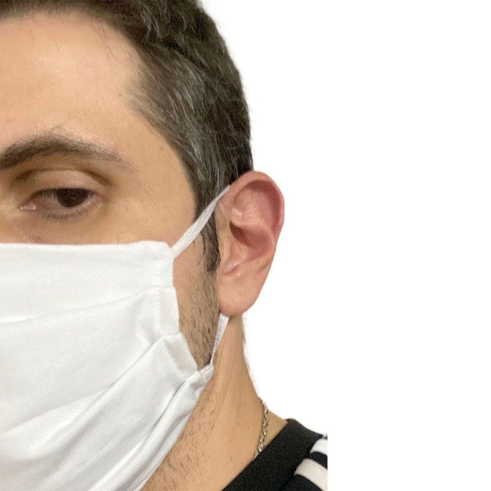 2x Mascaras tecido Camada Dupla Lavável Higiênica Antialérgica não Descartável Favix  - HARDFAST INFORMÁTICA