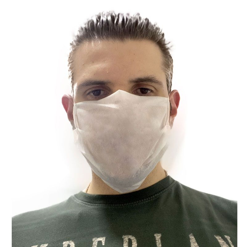 30 Mascaras P/ Rosto Higiênica Descartável Alta Qualidade Favix  - HARDFAST INFORMÁTICA