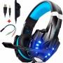 Fone De Ouvido Headset Profissional Gamer G9000 Microfone Pc Notebook Stereo Bass 7.1