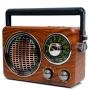 Micro System Amplificado Vintage Antigo Retro Fm Am Usb mp3 Caixa Som Forte 80w Pmpo Wlxy