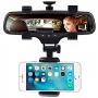 Suporte Retrovisor Universal Celular Carro Caminhão Smartphone Iphone Samsung todos Favix