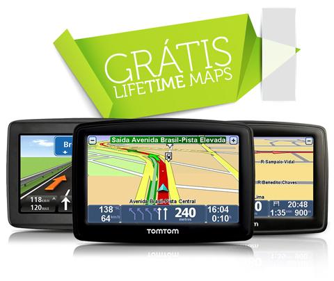 Gps Tomtom Via 1535 m Reconhecimento Voz Bluetooth Lifetime  - HARDFAST INFORMÁTICA