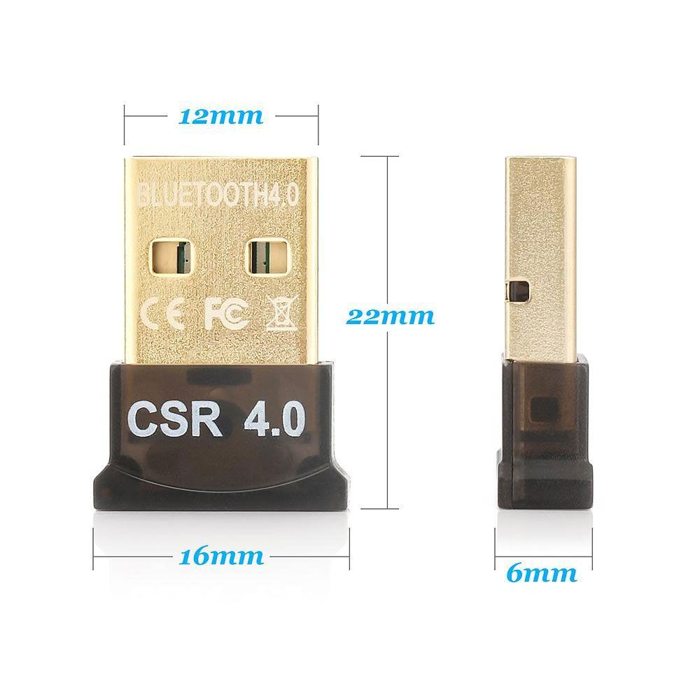Adaptador Bluetooth 4.0 para Pc Notebook conexão Audio Fone Caixa de Som Celular Tablet  - HARDFAST INFORMÁTICA