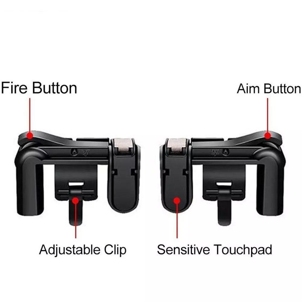 Adaptador L2 R2 L1 R1 Gatilho Celular Freefire Fortnite Pubg Critical Ops Knives out  - HARDFAST INFORMÁTICA