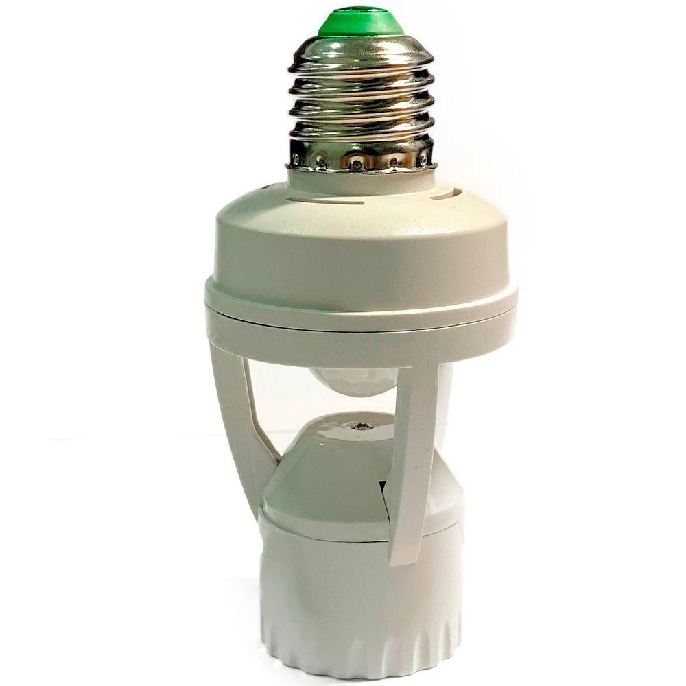 Adaptador Sensor Presença Lâmpada Bocal E27 360 Movimento  - HARDFAST INFORMÁTICA