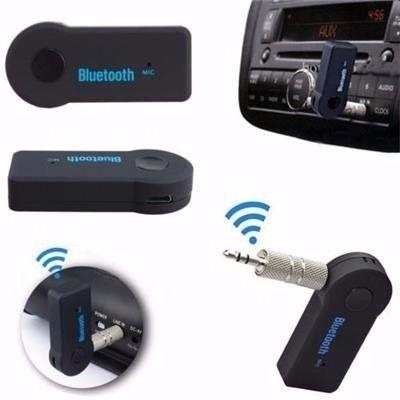 Bluetooth P2 Receptor Auxilar Carro Som Audio Iphone Sem Fio Android  - HARDFAST INFORMÁTICA