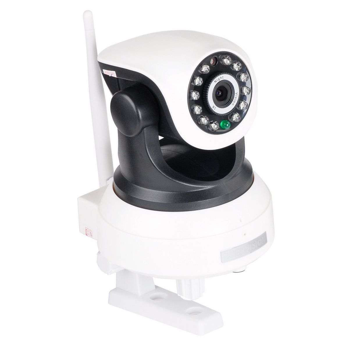 Camera Ip Wifi Hd 720P Alarme Entrada Cartão Sem Fio Iq Cut Ip03k Rj45 Celular Segurança  - HARDFAST INFORMÁTICA