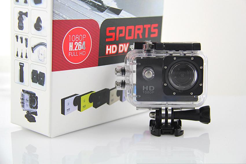 Câmera P Ação Sports Full Hd 1080p Zoom 4x 60 Fps TJ-4000 Hdmi Prova Agua Mergulho 30 metros Moto Carro  - HARDFAST INFORMÁTICA