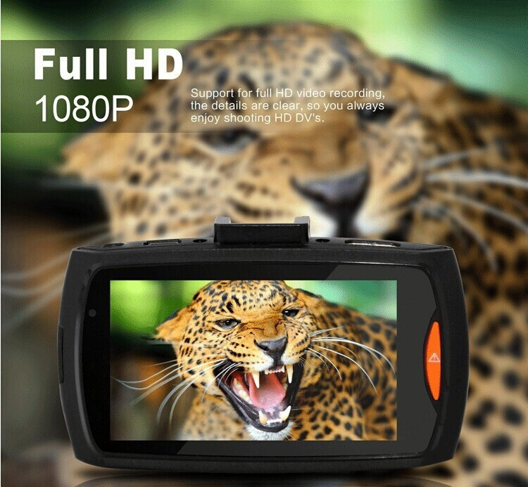 Camera Veicular Gravação Fhd 1080 Carro Led Visão Noturna Audio Foto Video Avi Dvr  - HARDFAST INFORMÁTICA