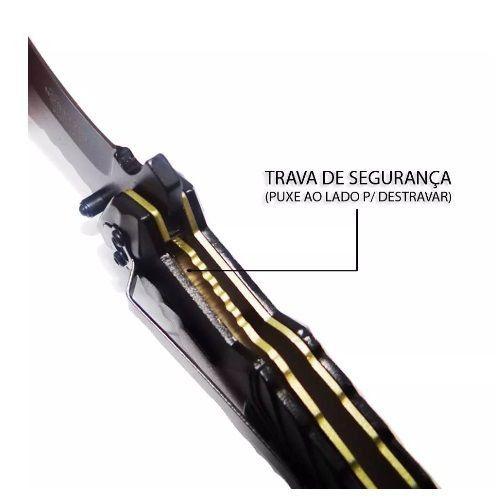 Canivete Faca Tático Mtech Gold Mt-a944 Militar Cinto Pesca Camping  - HARDFAST INFORMÁTICA