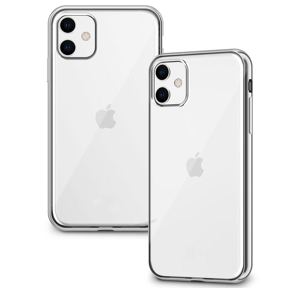 Capa Anti Shock iPhone 11 Pro Tela 5.8 + Pelicula Gel Wlxy Fina Capinha Silicone Transparente  - HARDFAST INFORMÁTICA