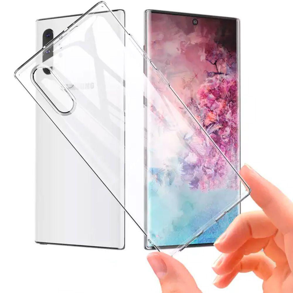 Capa Capinha Anti Impacto Cristal S9 S8 Plus S10 Note 10 + Silicone  - HARDFAST INFORMÁTICA