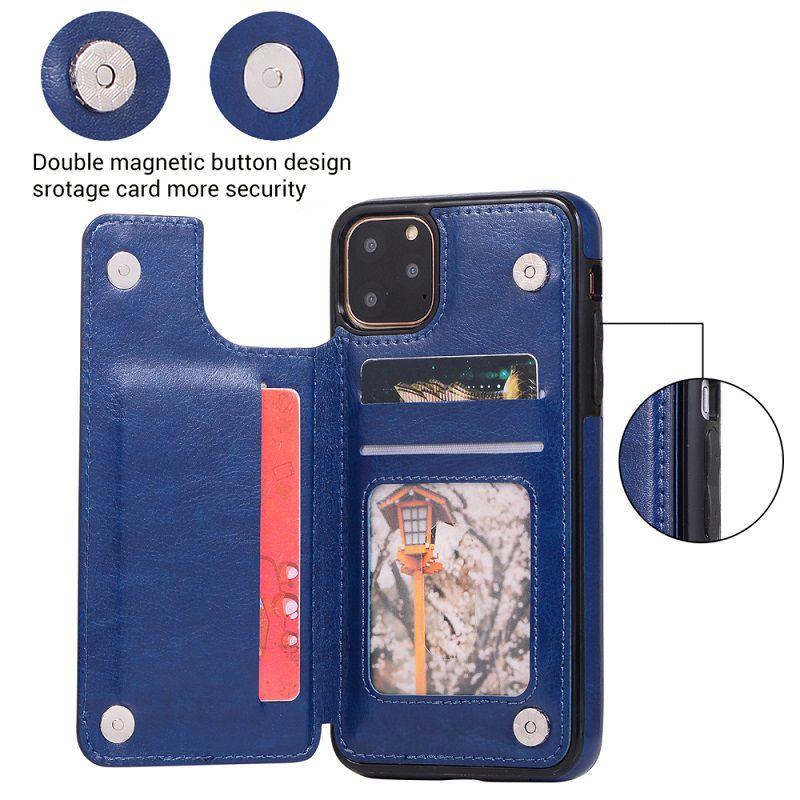 Capa Capinha iPhone 11 X 10 Xs 8 7 Plus Pro Max Xr Carteira Wlxy07  - HARDFAST INFORMÁTICA