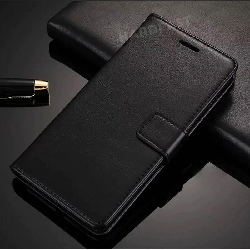 Capa Carteira Galaxy S10 / Plus Couro Encaixe cartão Doc dinheiro + Película Gel  - HARDFAST INFORMÁTICA