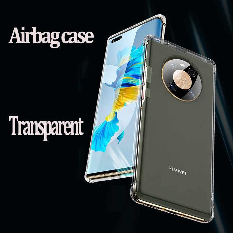 Capa Silicone Huawei Mate 40 Pro / Mate 40 Pro Plus Borda Anti choque Impacto  - HARDFAST INFORMÁTICA