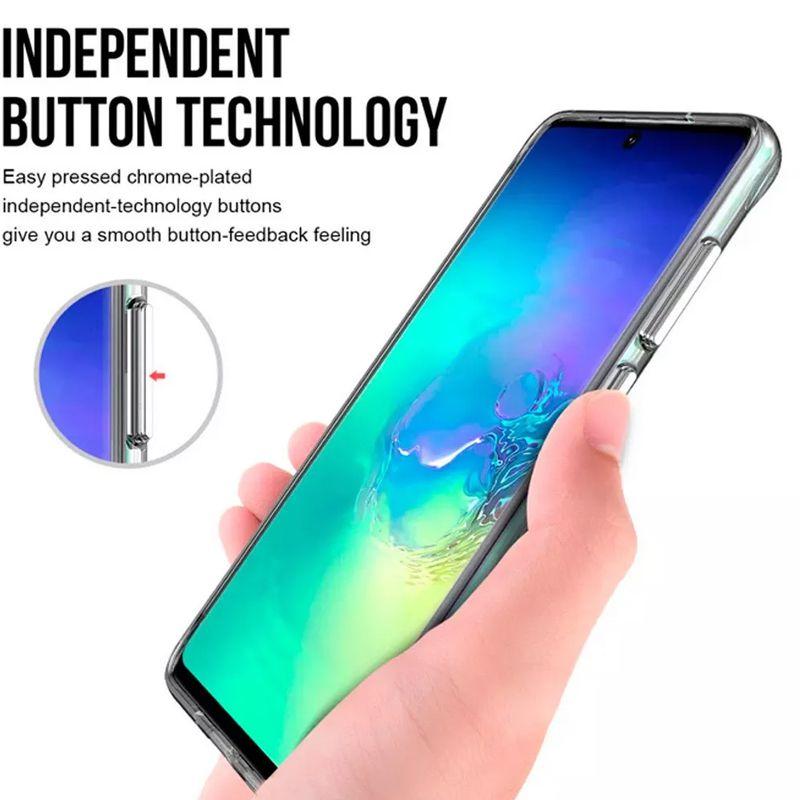 Capa Silicone Samsung Galaxy S11 Plus Edge + Pelicula Gel  - HARDFAST INFORMÁTICA