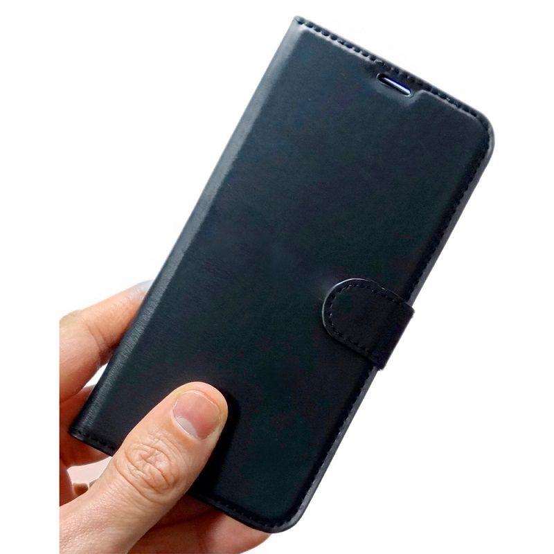 Capinha carteira Iphone 11 Pro MAX + Pelicula Gel Kit limpeza Wlxy Capinha  - HARDFAST INFORMÁTICA