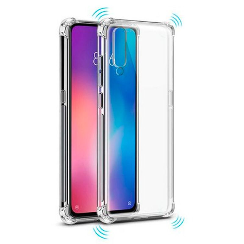 Capinha Silicone Samsung A50 Antishock + Película Gel Wlxy  - HARDFAST INFORMÁTICA