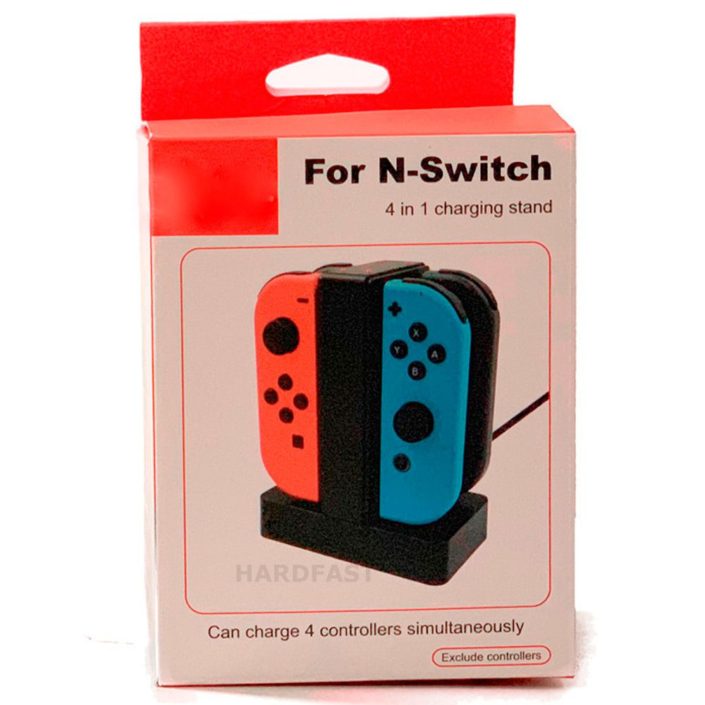 Carregador Controle Nintendo Switch Joypad 4x ao mesmo tempo  - HARDFAST INFORMÁTICA