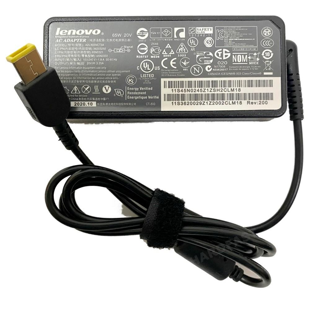 Carregador Fonte Notebook Lenovo G400s 20v 3.25a Plug Usb 65w 11mm x 4mm Plug  - HARDFAST INFORMÁTICA