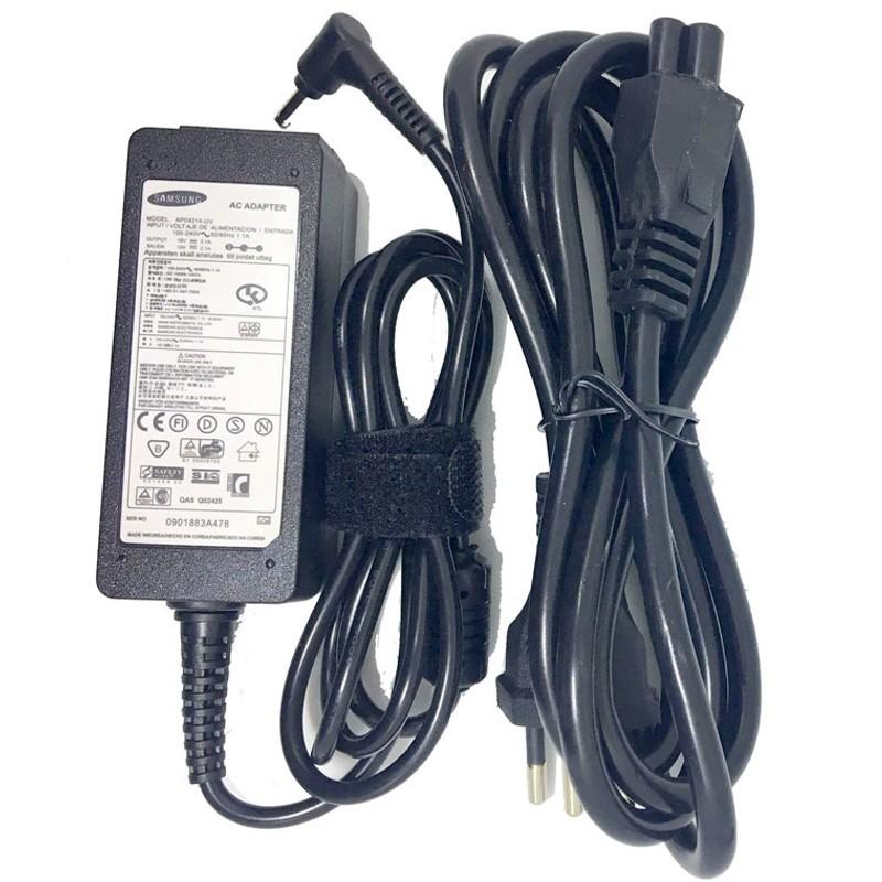 Carregador Fonte Notebook Samsung Ultrabook 19v 2.1a 40w Serie 3 5 9 np900     - HARDFAST INFORMÁTICA