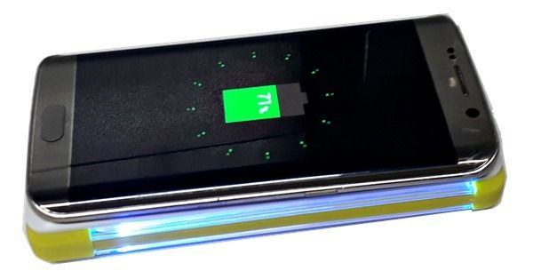 Carregador Pineng Sem Fio 10.000Mah Qi Iphone X 8 S8 S7 Note genuíno Indução  - HARDFAST INFORMÁTICA