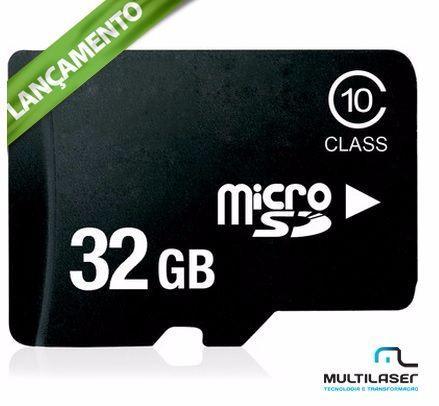 Cartão Micro Sd 32gb Classe 10 Kit 3x1 Pen Drive Usb Memoria 32 gb  - HARDFAST INFORMÁTICA