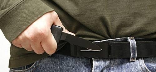 Cinto Faca Tatico Canivete Com Oculta Na Fivela Knife Belt Lamina Militar Pesca Caça Camping  - HARDFAST INFORMÁTICA