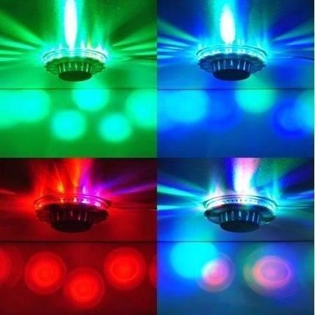 Disco de Led Bola Maluca Bivolt 48 Leds iluminacao a melhor! Pisca Natal  - HARDFAST INFORMÁTICA