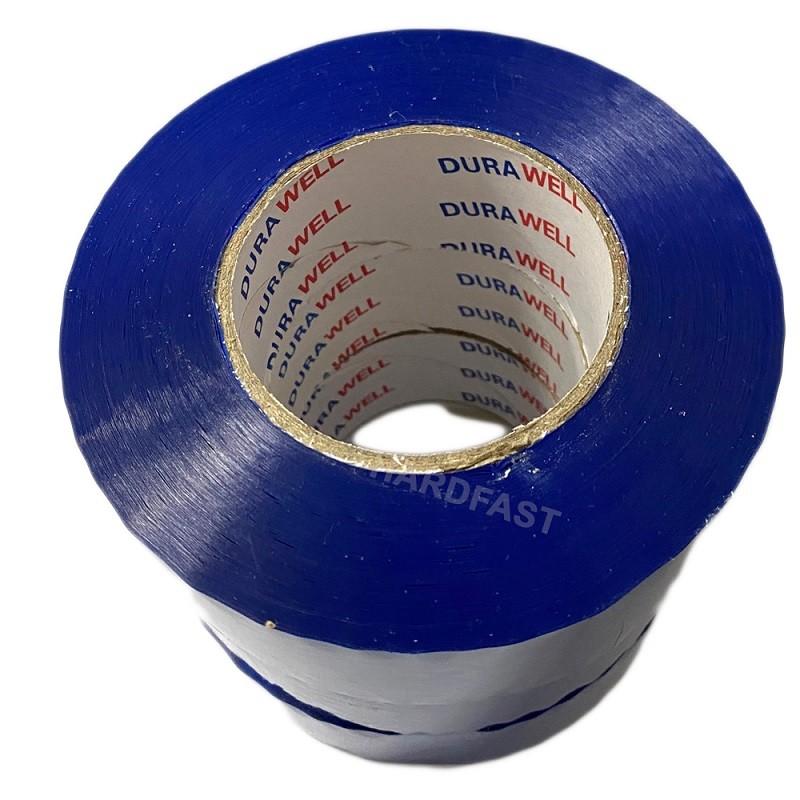 Fita Adesiva 3x Rolos de 200 metros Azul p/ caixas Pacotes Demarcação Alta qualidade  - HARDFAST INFORMÁTICA