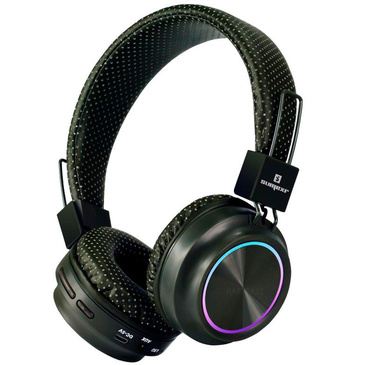 Fone de ouvido bluetooth SumeXr Sly06 CrazyBass Fm Sd Stereo Favix  - HARDFAST INFORMÁTICA