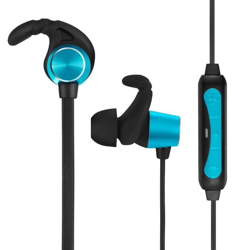 Fone de Ouvido Sem Fio Sly-13 Bluetooth 4.0 Mega Bass Esporte Academia Corrida Favix  - HARDFAST INFORMÁTICA